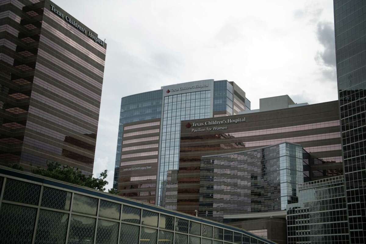 The Texas Children's Hospital at the Texas Medical Center campus in Houston.