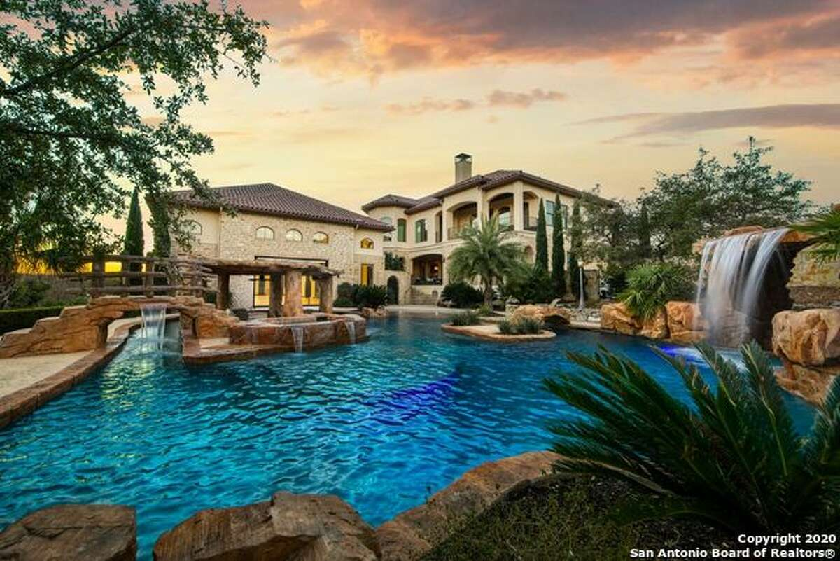 This San Antonio property at 0 Esquire in The Dominion has 13,532 square feet, 7 bedrooms and 7 bathrooms. The list price is $5,400,000.