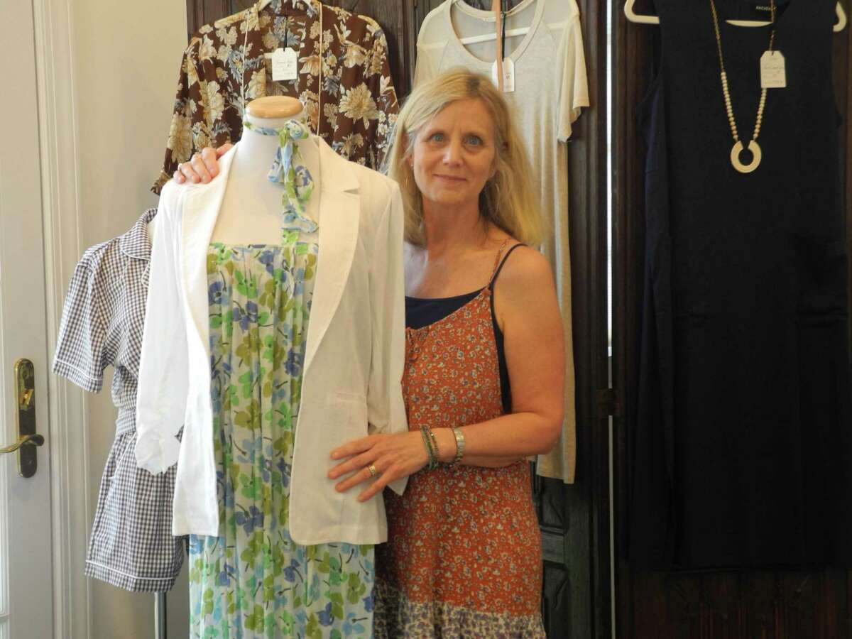 Andrea McLaughlin opened her women's clothing store June 2, 2020, at 5 River Road in Wilton, CT. Her selection includes clothing, accessories and gifts.