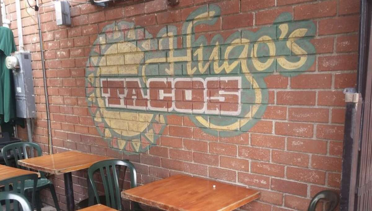 The interior of Hugo's Tacos, a restaurant with two locations in Los Angeles. Hugo's Tacos closed both locations on Sunday, citing customers' refusal to wear masks and harassment of their employees.
