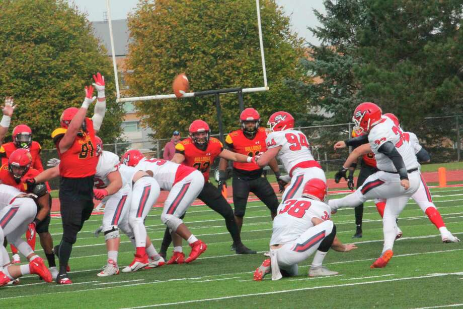 Ferris football team is gaining attention in national polls. (Pioneer file photo)