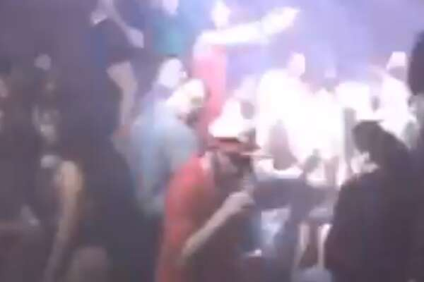 Crowds of people dancing close together in downtown Houston nightclub was videotaped this weekend.  The video was captured at Spire Night Club in downtown Houston.