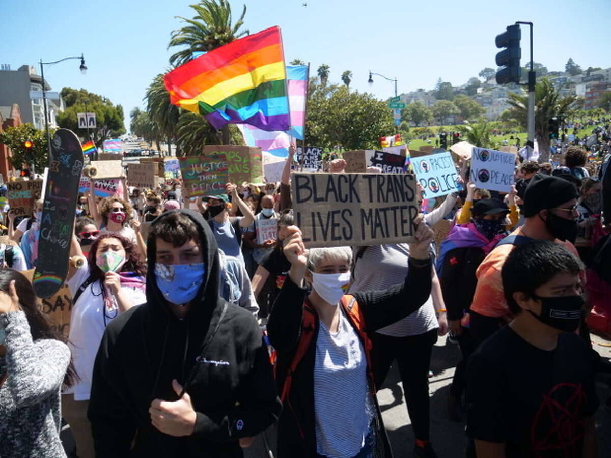 The march started in Dolores Park and headed to the Castro.