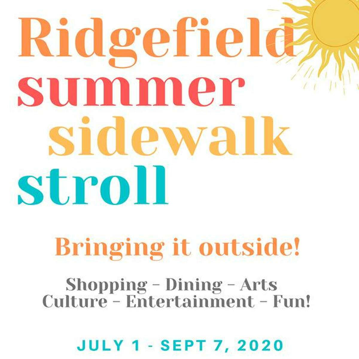 Ridgfield's Summer Sidewalk Stroll kicks off July 1.