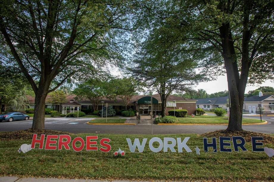 Some workers and residents at Leewood Healthcare Center in Fairfax have tested positive for the novel coronavirus. Photo: Photo For The Washington Post By Dayna Smith / Dayna Smith