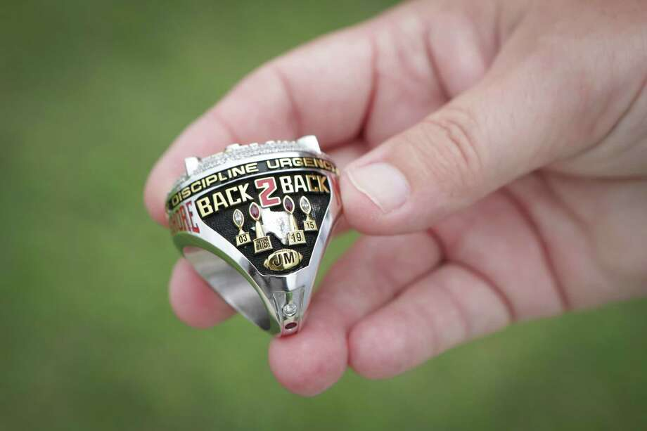 North Shore would like to have rings that say 3-peat after the 2020 season. Photo: Steve Gonzales, Staff Photographer / © 2020 Houston Chronicle