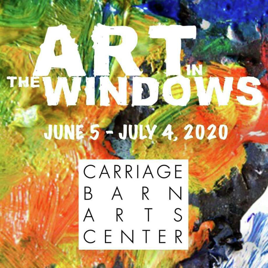 The Carriage Barn Arts Center's virtual gallery Art In The Windows runs through July 4. Photo: Contributed Photo