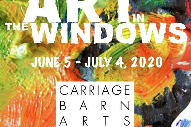 The Carriage Barn Arts Center's virtual gallery Art In The Windows runs through July 4.