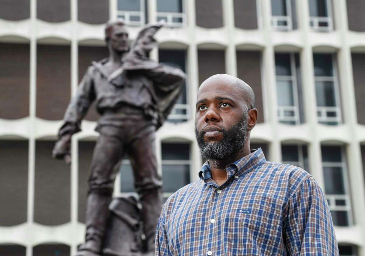Isaac Fanuiel IV is pushing to have a statue of a Confederate soldier removed in Galveston.