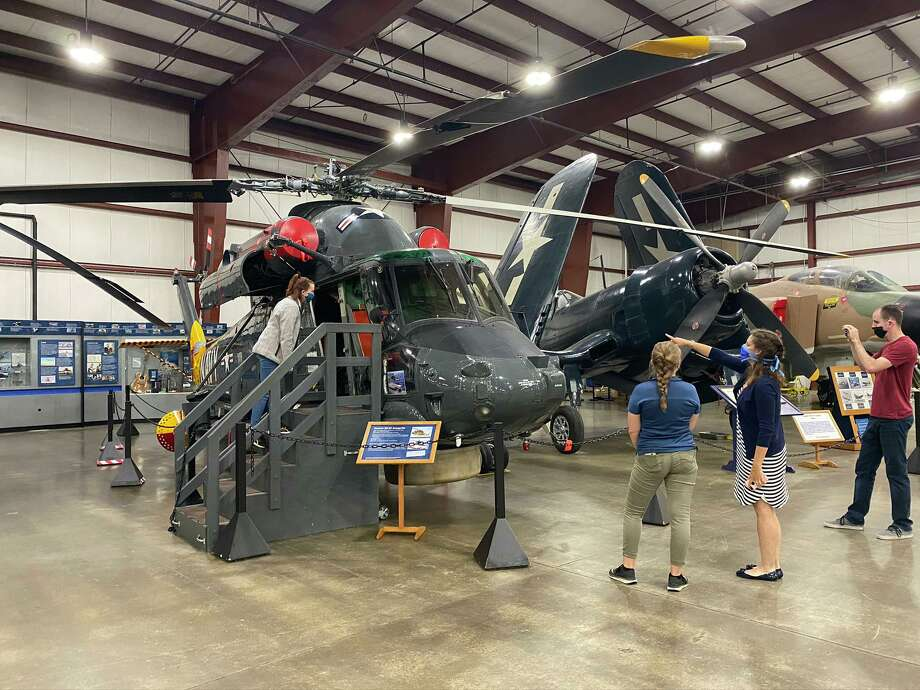 The New England Air Museum, the largest aviation museum in New England, is open daily in Windsor Locks. It features three large hangars, outdoor exhibits and more than 100 aircraft ranging from early airships and flying machines to supersonic jets and helicopters. Photo: Contributed Photo