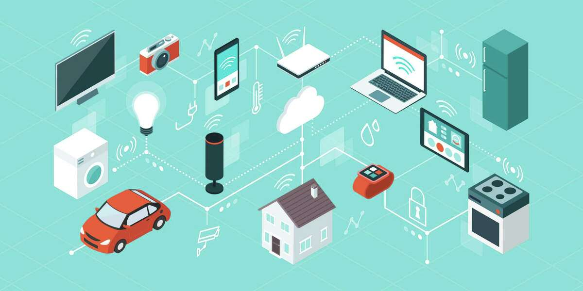 """The """"internet of things' is a term used to describe the increasing connectivity of our work and lives. It's widely apparent in our homes - from lights to window shades to appliances - where smart products can be controlled by our phones and other electronic devices."""