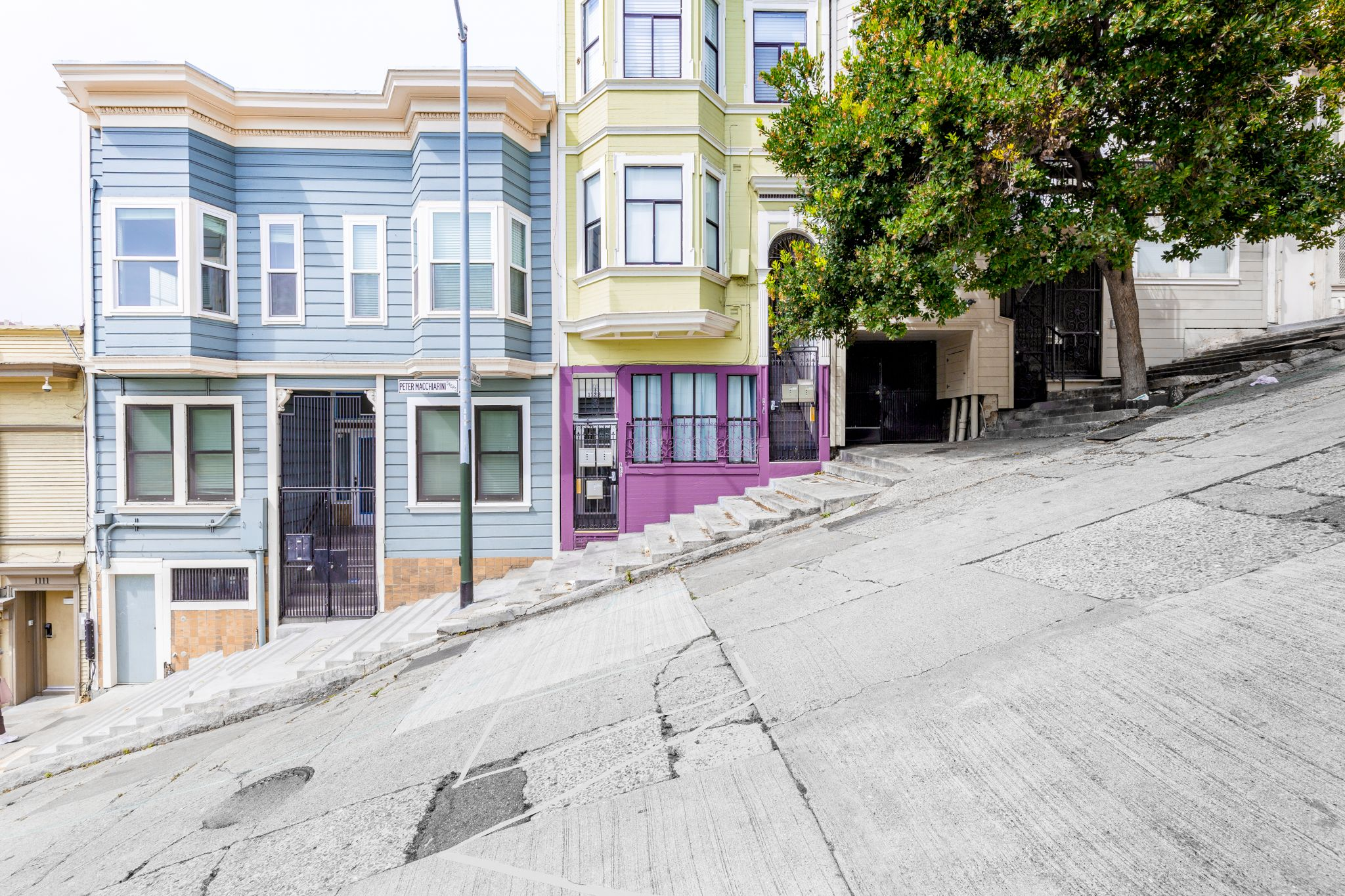 Where is San Francisco's actual steepest street? This guy found out the hard way.