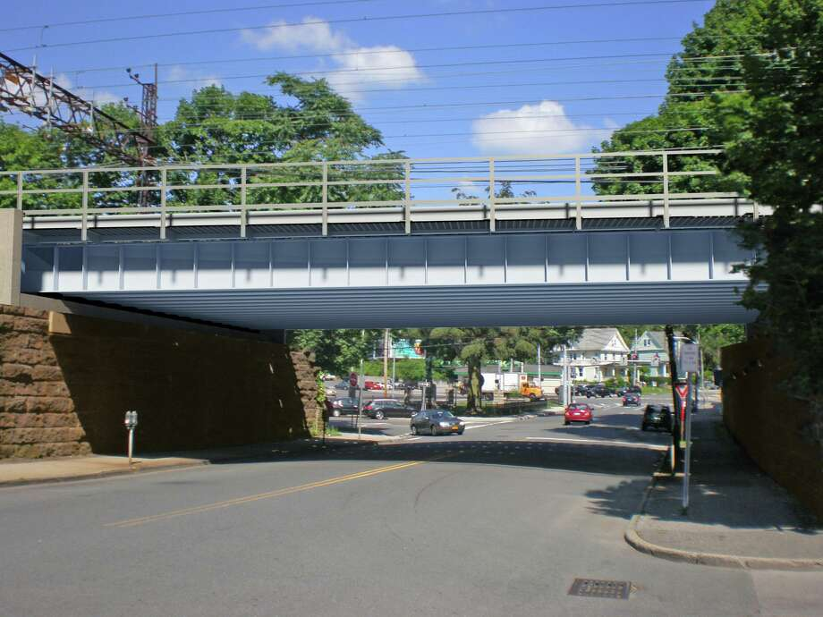 The Metro-North bridge over Willet Avenue is slated for improvements. Photo: / Metro-North Railroad