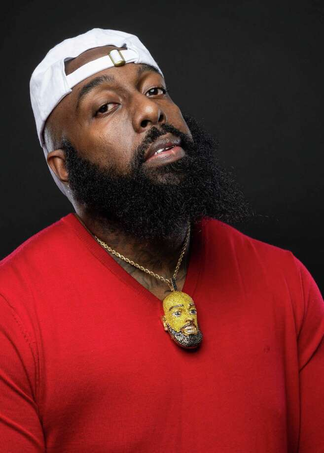 """Fearless and compassionate in the face of any disaster striking Houston, Trae the Truth stands up to the challenge when his home or his neighbors are threatened. When Hurricane Laura decimated some areas around Lousiana, Trae mobilized the """"Relief Gang"""" to help out our neighbors in Lake Charles and the surrounding areas. Photo: Courtesy / Courtesy"""