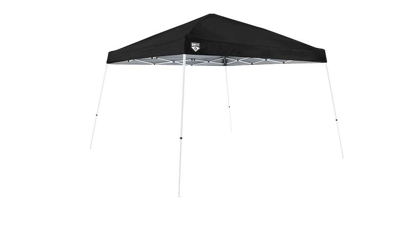Quest Q64 10' x 10' Instant Up Canopy Price: $39.98 You can fit a folding table underneath this Quest canopy and enjoy dinner outside with your friends or family, while keeping your distance.  For $40, you can easily afford a few of these for your yard.
