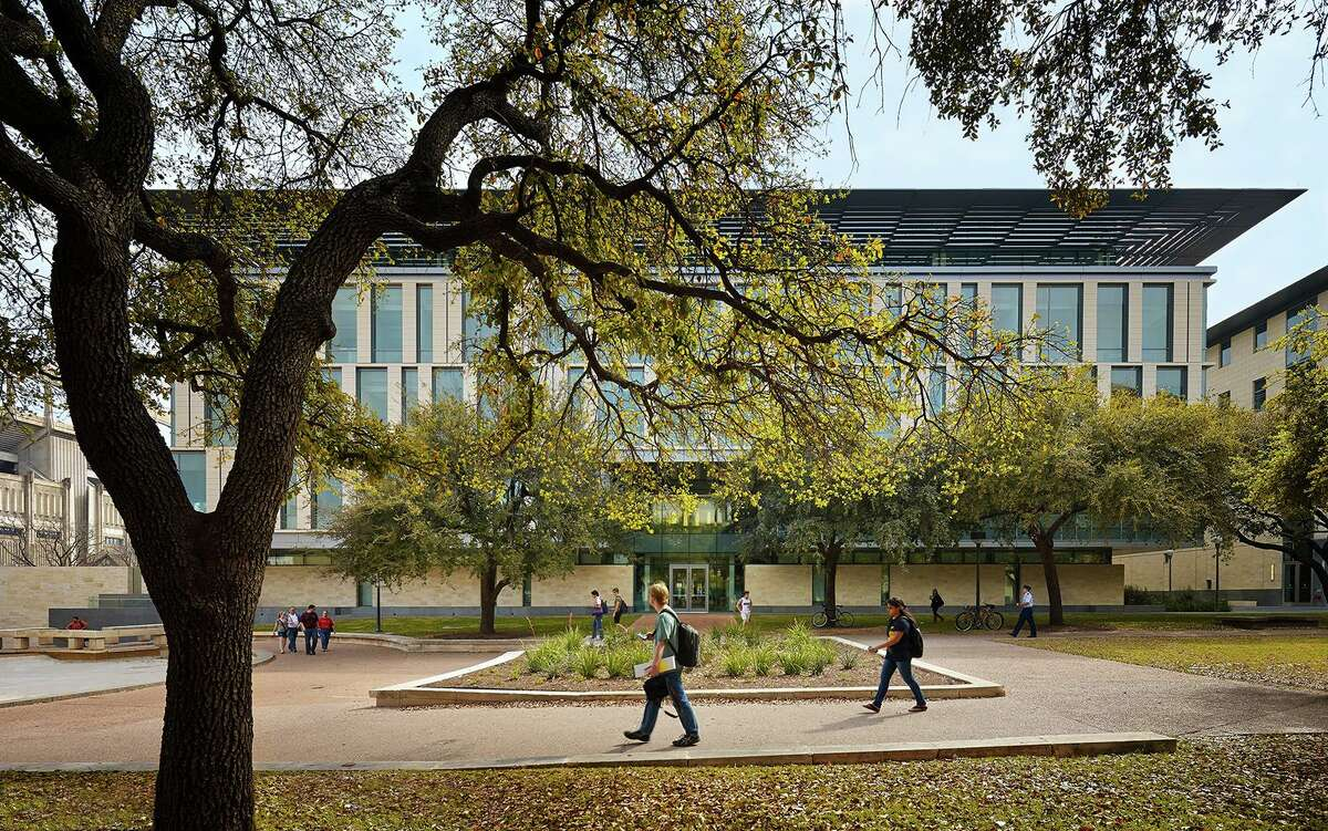 The University of Texas at Austin Liberal Arts Building is shown in this file photo. UT Austin announced detailed plans for the Fall 2020 semester Monday, June 29, 2020.
