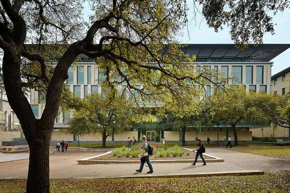 File photo shows the University of Texas at Austin's Liberal Arts Building.
