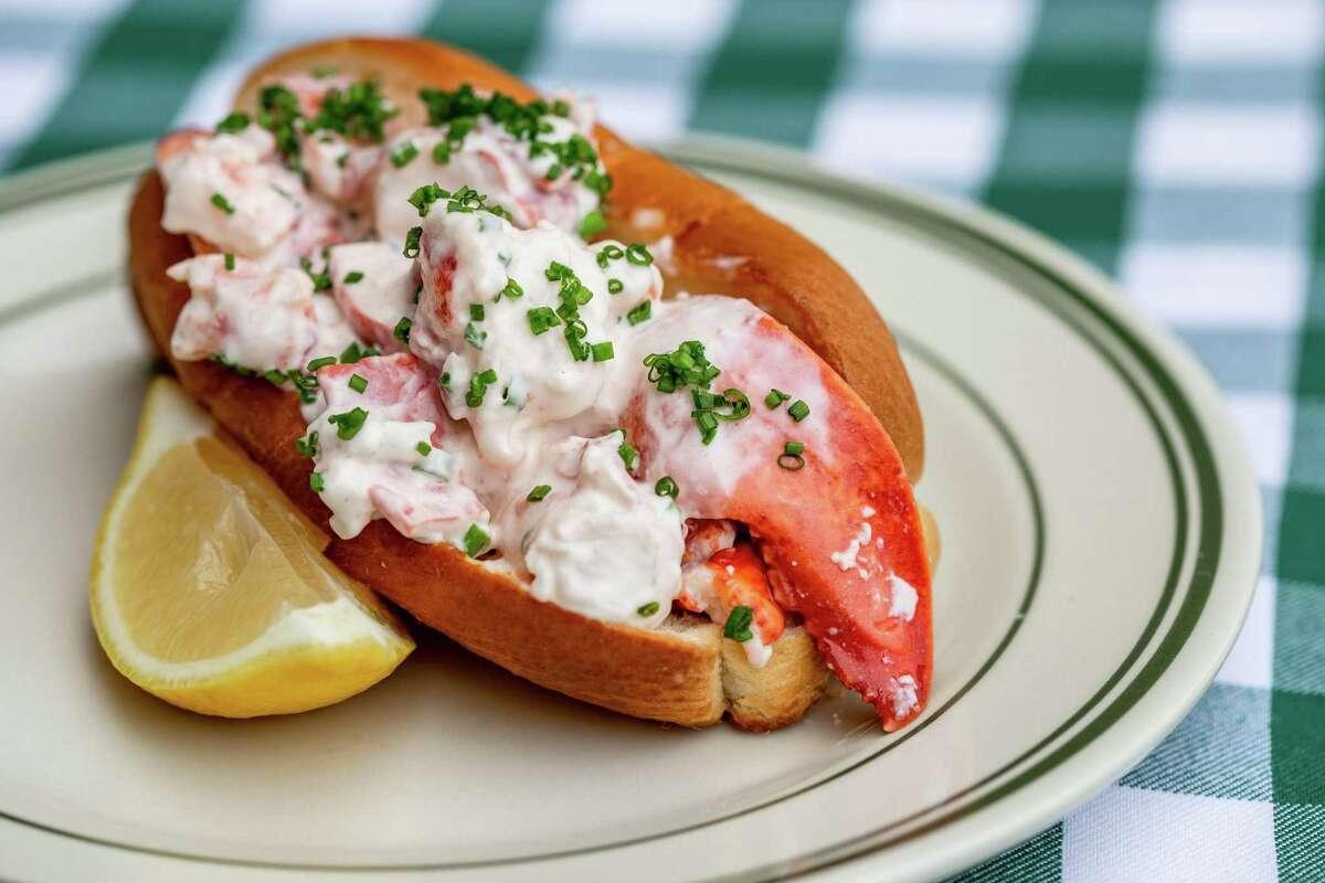 Classic New England lobster roll at B.B. Lemon on Washington.