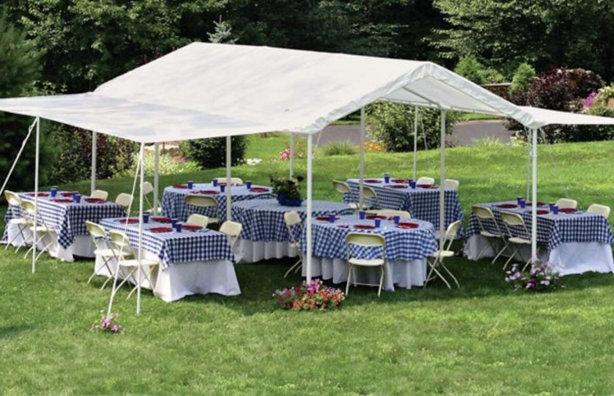 As we enter summer, it seems like get-togethers are almost unavoidable after months stuck indoors. However, not everyone is comfortable hosting parties inside of their homes due to COVID-19. If you want to have people over, but maintain a bit of distance, you can get a canopy for your backyard. Canopies can help when inclement weather strikes, either if there is way too much sun or rain comes out of nowhere. You can set up tables under your canopies for everyone to hang out and enjoy each other's company outside.