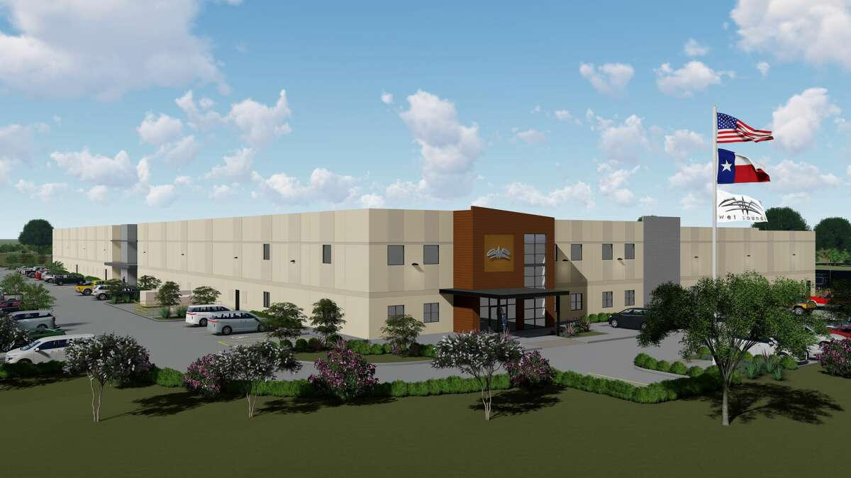 KDW will design and build a 118,386-square-foot warehouse, fabrication and office facility for Wet Sounds on 27 acres at 2975 Louise Street in Rosenberg. The company makeshigh-performance marine and powersports audio systems.