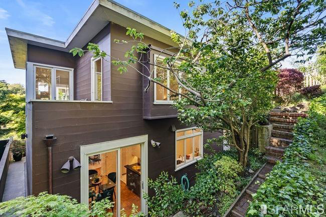 With the Presidio in front and a private garden in the back, the home has been attractive to today's buyers, said listing agent Nina Hatvany.