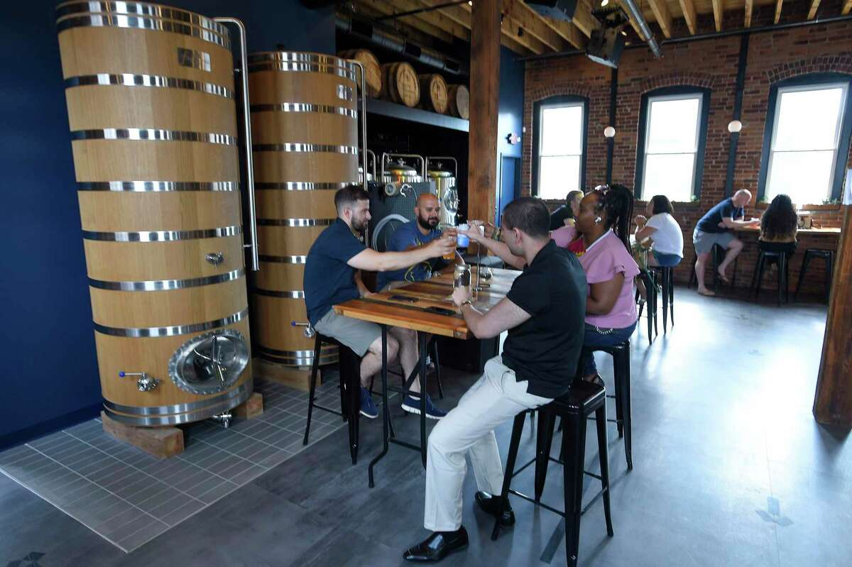 Half Full Brewery's new gathering place, Third Place, is located at 575 Pacific St., in Stamford, Conn.
