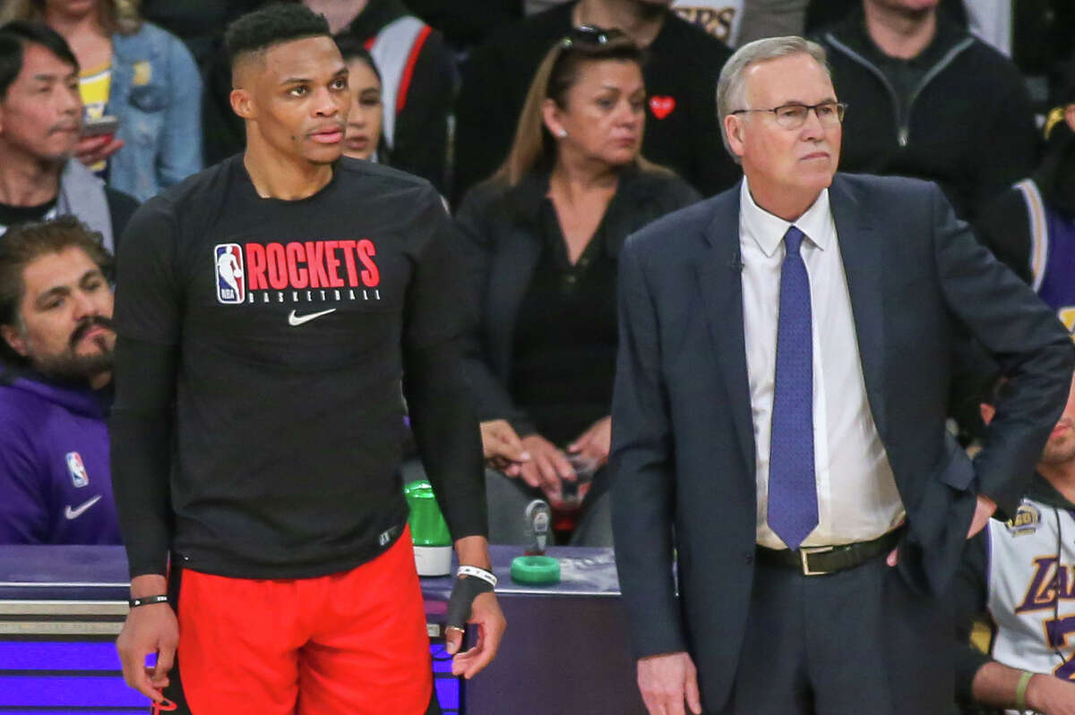 How far Russell Westbrook can power a Rockets playoff run figures to be a big factor when it comes to coach Mike D'Antoni's future in Houston.