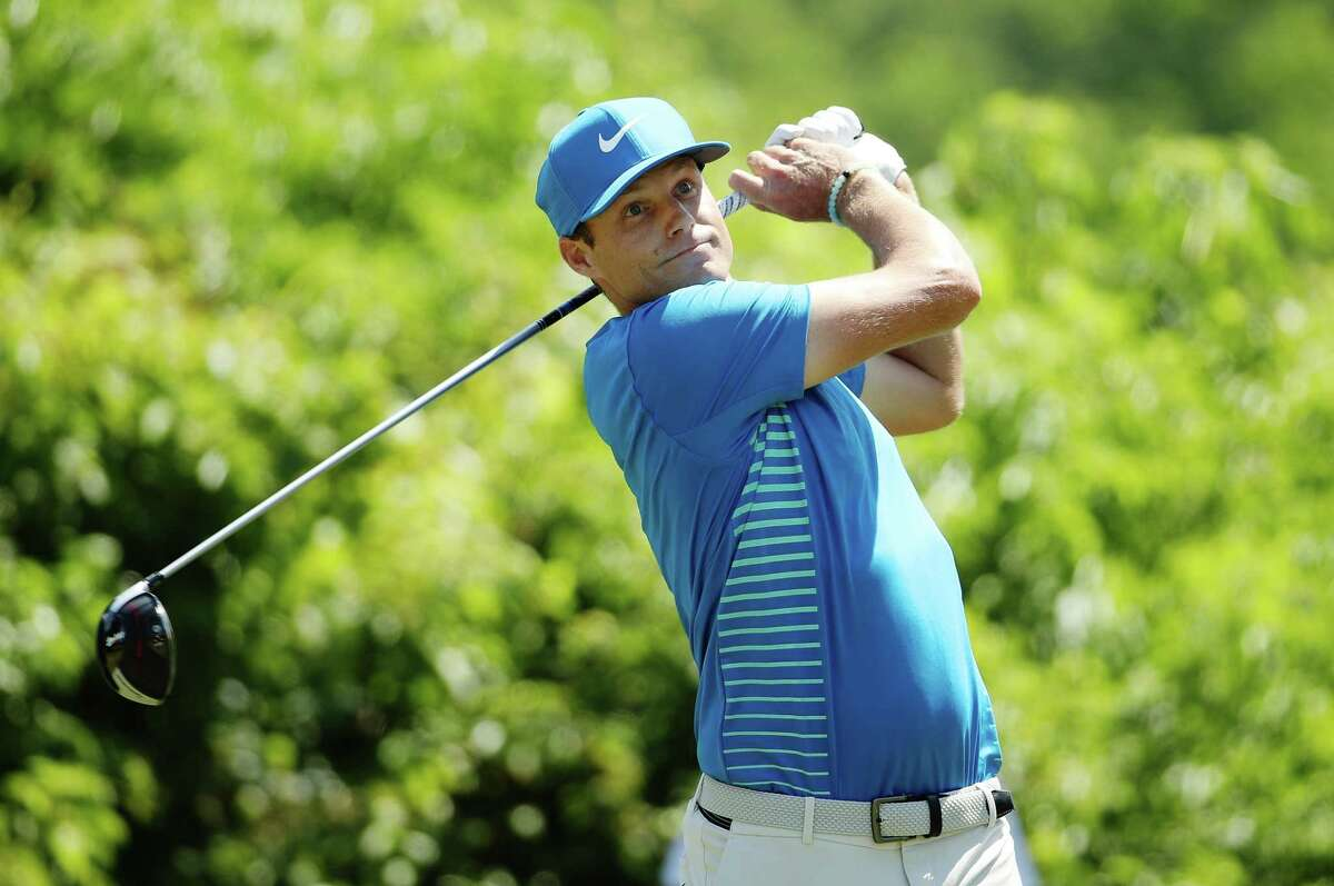 AVONDALE, LA - APRIL 29: Nick Watney plays his shot from the second tee during the final round of the Zurich Classic at TPC Louisiana on April 29, 2018 in Avondale, Louisiana. (Photo by Chris Graythen/Getty Images)