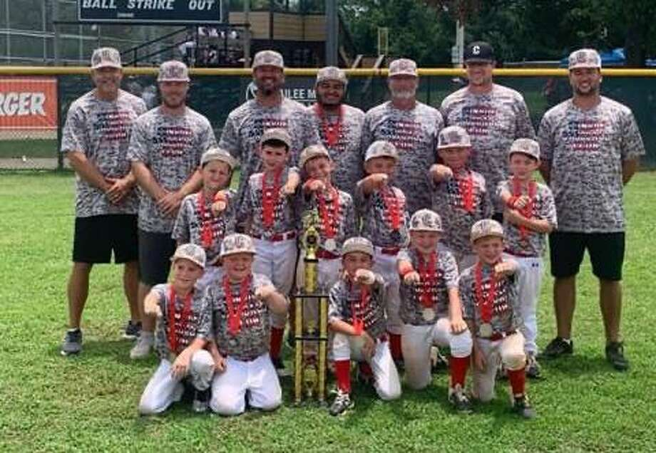 Tide Murray's 7U team finished as the runners-up in the Nations Baseball 7U World Series. Photo: Submitted
