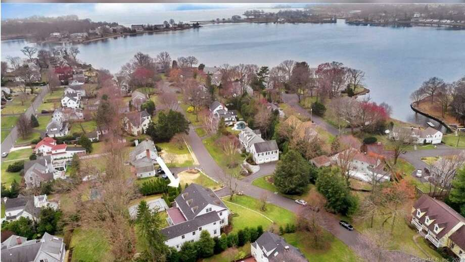 A house on Lighthouse Way in Darien sold for $2.8 million, one of 24 home sales recorded by Darien's Town Clerk in June. Photo: Realtor.com