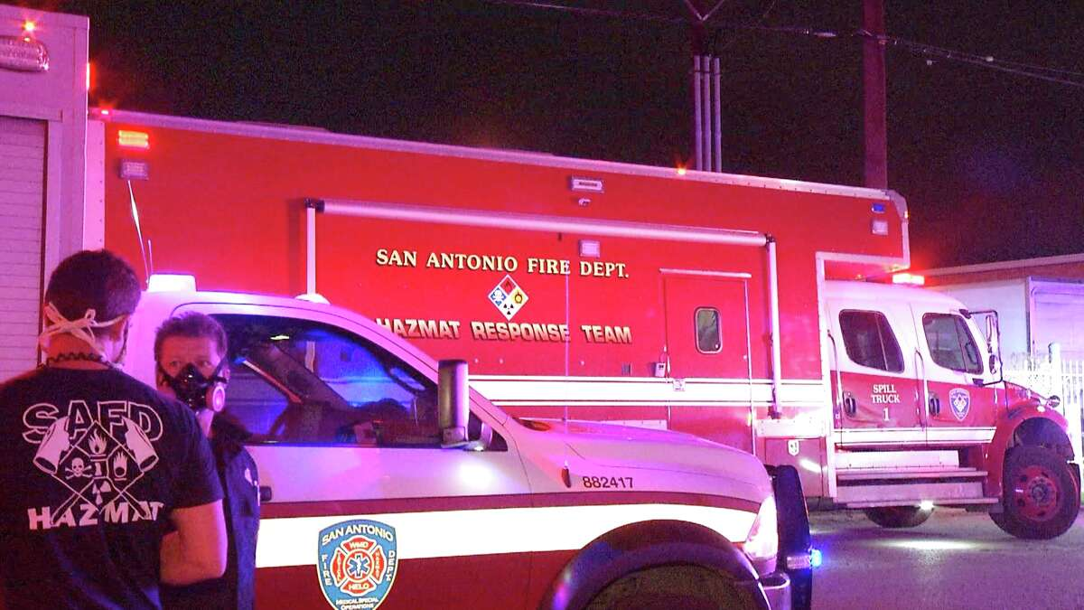 A leaking pipe caused the evacuation at a Southwest Side kielbasa meat factory late Monday night.