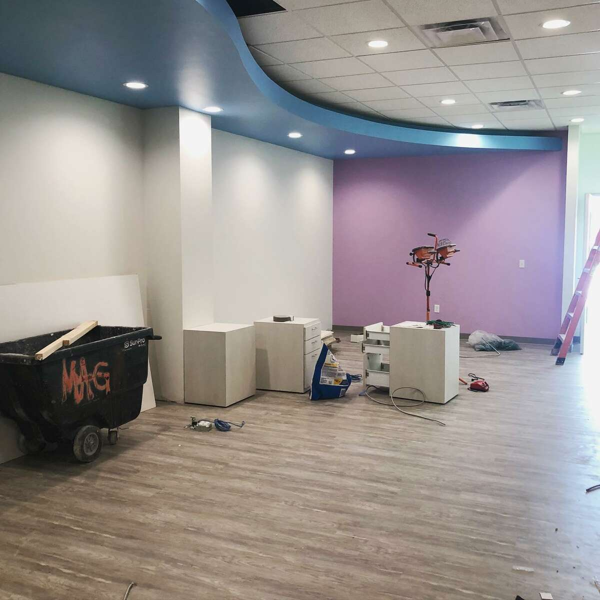 Cavity Patrol Pediatric Dentistry plans to open at the end of July. The dentistry practice on Fry Road and Longenbaugh will contribute to the Cy-Hope Backpack Program.