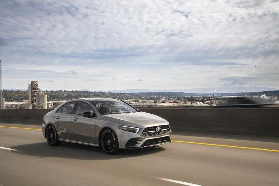 The 2020 Mercedes-Benz A220 4Matic Sedan is similar to the 190E. Photo: Mercedes-Benz Pressroom /Contributed Photo