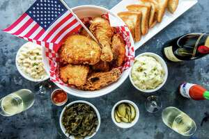 Max's Wine Dive locations will off its fried chicken bucket meal (buttermilk-marinated fried chicken with two sides) for $45 to mark Fourth of July. Available July 4-6.