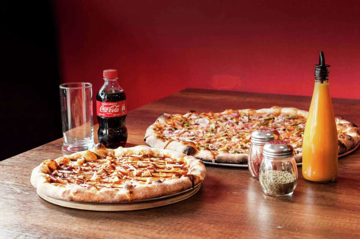 Southside Flying Pizza, 2240 Navigation, is marking Fourth of July with a $15 large