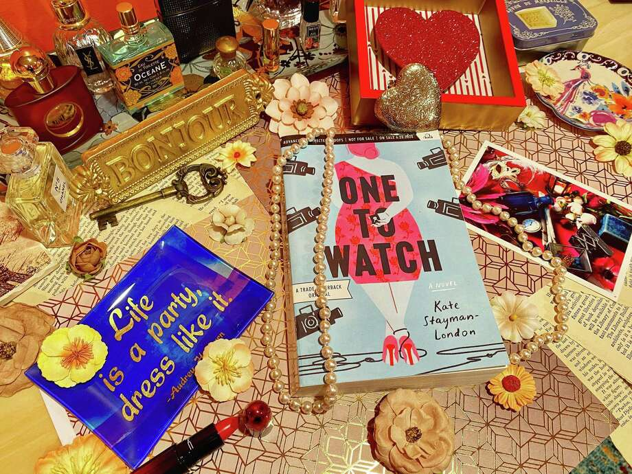 """""""One to Watch"""" is a debut novel by Kate Stayman-London. Photo: TinaMarie Craven / Hearst Connecticut Media /"""