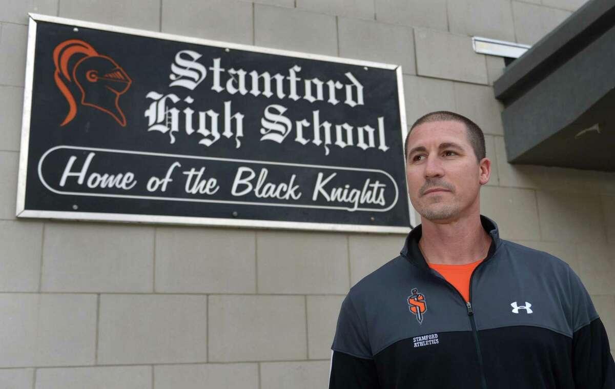 Stamford High School Athletic Director Chris Passamano at Stamford High School Thursday, December 6, 2018, in Stamford, Conn.