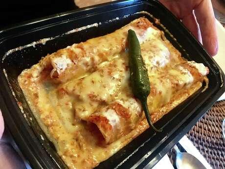 Potato enchiladas from Saltillo Mexican Kitchen