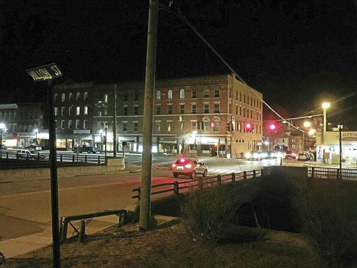 A view of downtown Winsted