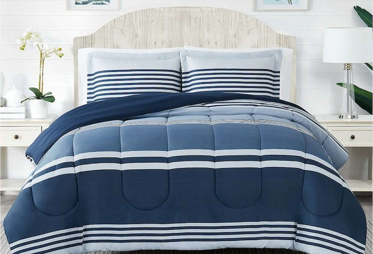Pem America Cole Stripe 2-Pc. Twin Comforter Mini Set Price: $29.99 Need a new comforter for your room or a guest room in your house? This Pem America Cole Stripe 2-Pc. Twin Comforter Mini Set (in Twin and Queen/Full) for only $29.99.