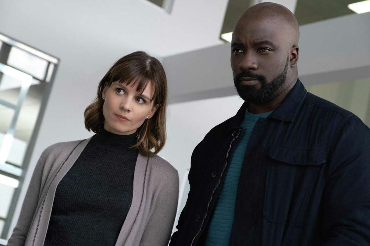 Katja Herbers and Mike Colter star in