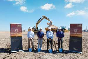 Stream Realty Partners broke ground on the Empire West Business Park on Interstate 10 just west of Woods Road in Brookshire.