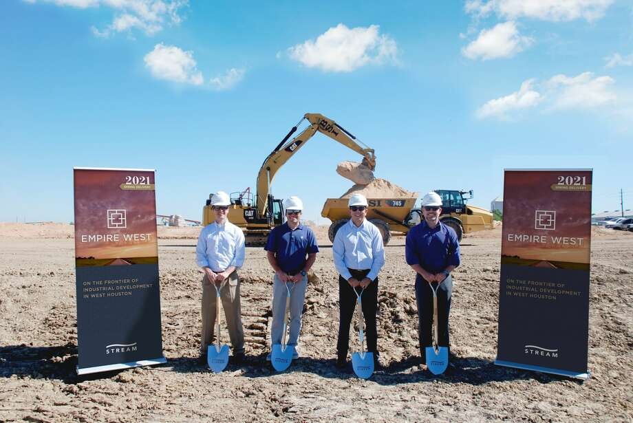 Stream Realty Partners broke ground on the Empire West Business Park on Interstate 10 just west of Woods Road in Brookshire. Photo: Stream Realty Partners
