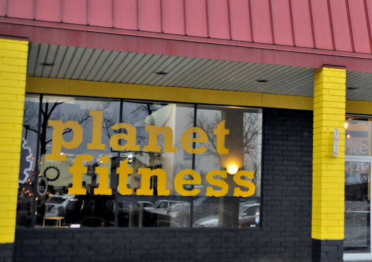 This Planet Fitness gym has been charging Amy George for 5 years for a membership she never signed up for. The building is seen on Wednesday Dec. 7, 2011 in Loudonville, NY. (Philip Kamrass / Times Union )
