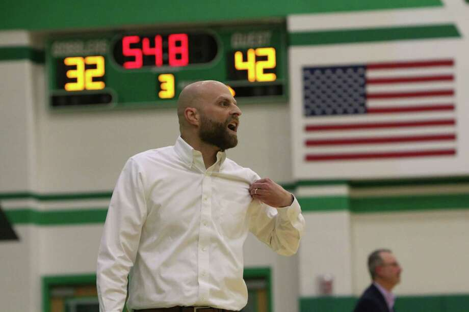 Brett Nixon, the new head coach of the Stratford Spartans boys basketball team, comes most recently from being the head coach Fulshear High School in Lamar Consolidated ISD Photo: Ryan Dunsmore, Fort Bend Herald