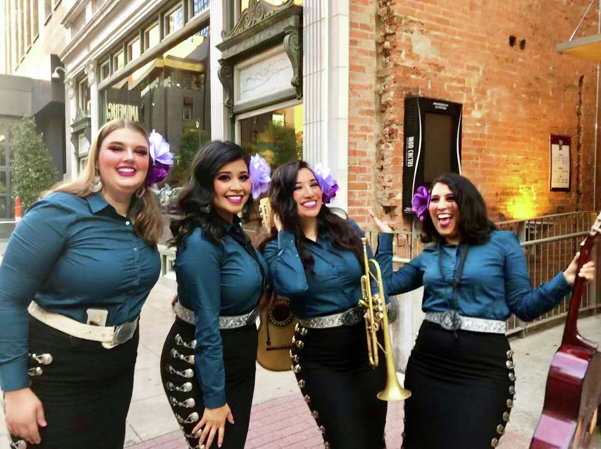 Mariachi Rosas Divinas The Dallas-Forth Worth area's first and only all-female mariachi group since 2004, according to their website.