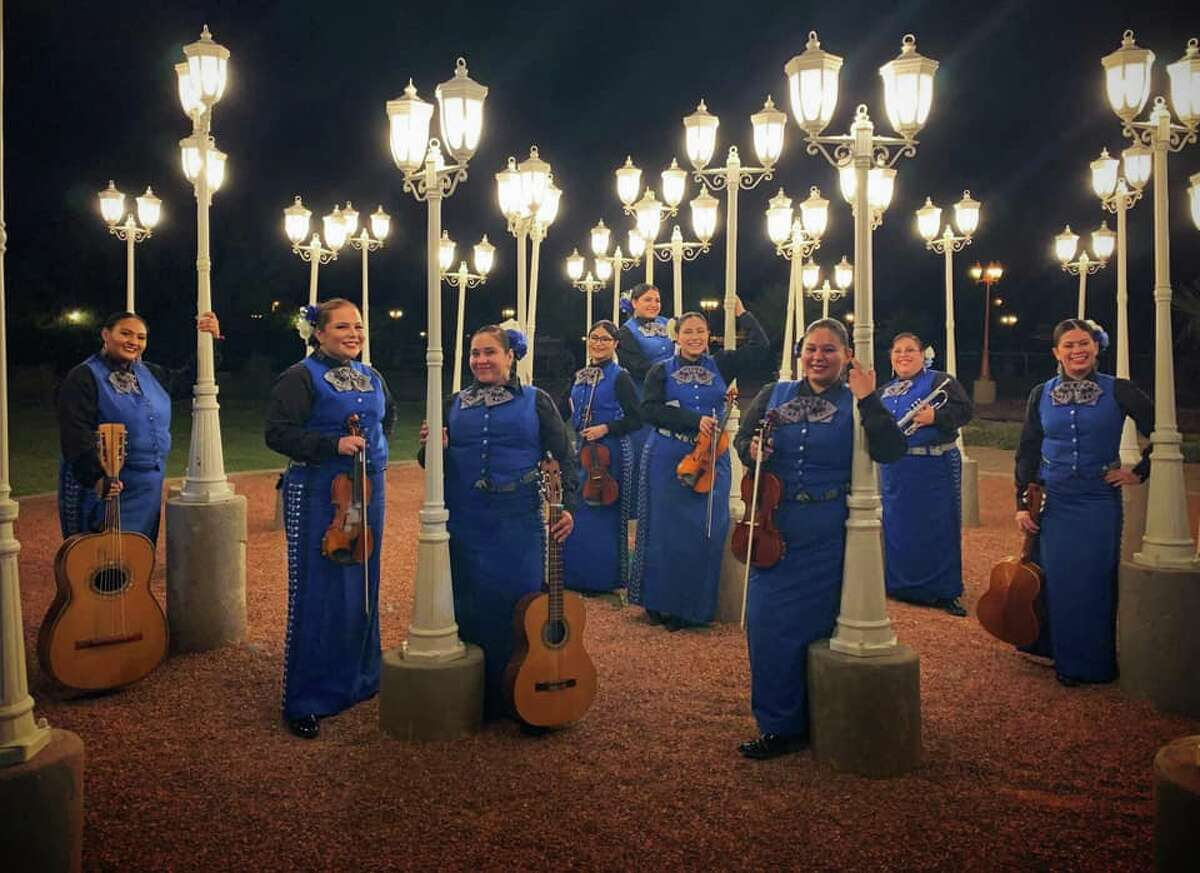 Mariachi Femenil Flores Mexicanas Based out of El Paso, this premier all-female group of the Southwest made its debut in the spring of 2001.