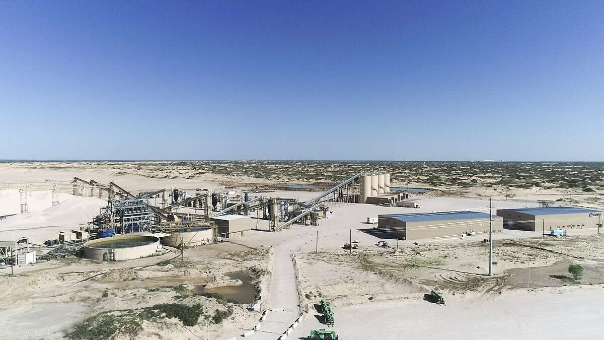 The Covia-Kermit Plant outside of Kermit, Texas on Wednesday, April 29, 2020.