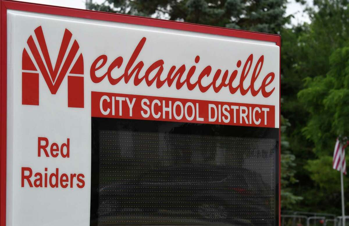 Mechanicville school leaders wanted to let parents decide whether their kids had to wear masks at school this year. But it's led to a new problem: what if the parent wants masks, but the child sees classmates without masks and wants to ditch their mask, too? The policy cannot yet go into effect, because a new state rule will require masks at the start of the school year.(Will Waldron/Times Union)