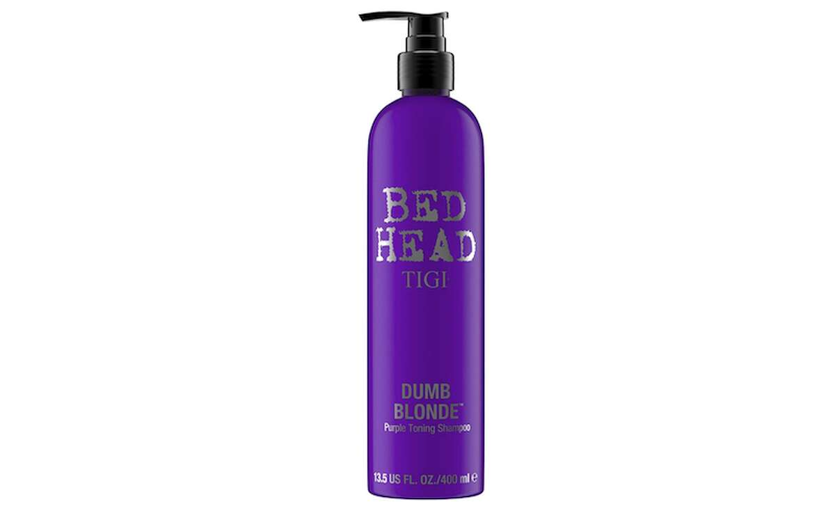 Tigi Dumb Blonde Violet Toning Shampoo Price: $8.99 at Amazon and $17.99 at Ulta No one will actually call you a dumb blonde when you get this Tigi shampoo. You can rack up (or use) points when you get this at Ulta, or you can get a two-pack for the same price from Amazon.
